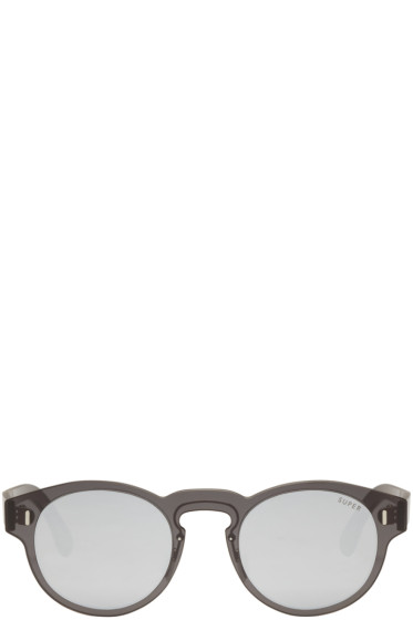 Super - Black Duo-Lens Paloma Sunglasses
