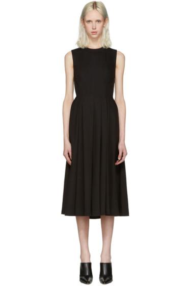 T by Alexander Wang - Black Peplum Dress