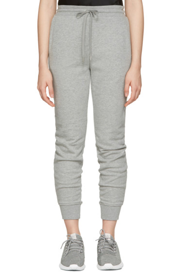 T by Alexander Wang - Grey French Terry Lounge Pants