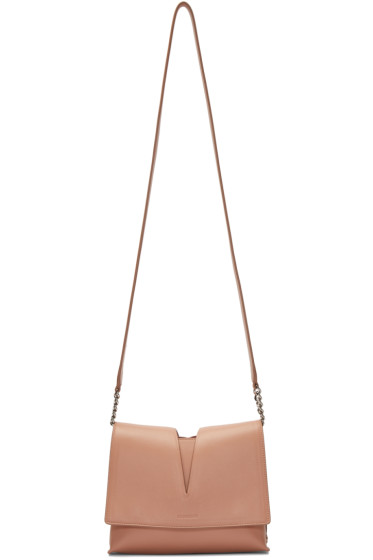 Jil Sander - Beige Small View Shoulder Bag