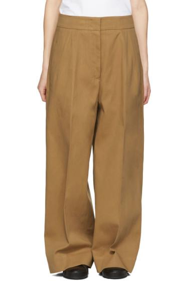 Jil Sander - Tan Costanzo Trousers