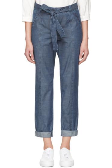 A.P.C. - Indigo Burki Trousers