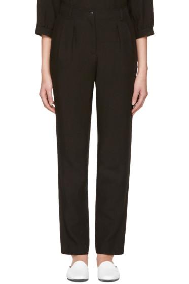 A.P.C. - Black Silverlake Trousers