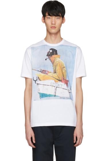 Junya Watanabe - White Sport T-Shirt