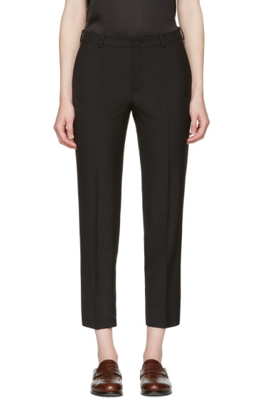 Lanvin - Black Cropped Trousers