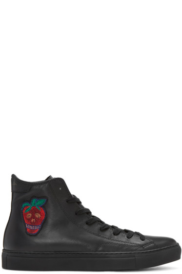 Paul Smith - Black Destra High-Top Sneakers