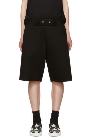 Givenchy - Black Neoprene Shorts