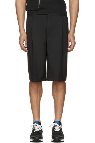 Givenchy - Black Pleated Shorts