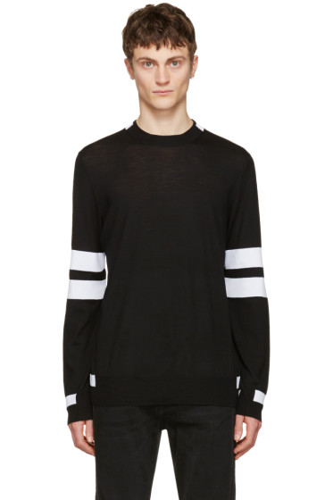 Givenchy - Black Band Sleeve Pullover