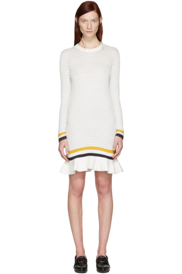 3.1 Phillip Lim - White Knit Dress