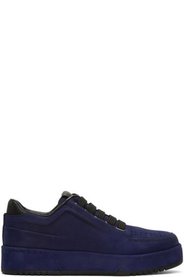 3.1 Phillip Lim - Navy Suede PL31 Sneakers