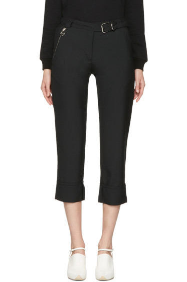 Carven - Black Cuffed Trousers
