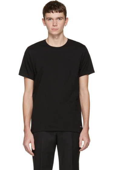 Calvin Klein Underwear - Three-Pack Black Classic-Fit T-Shirts