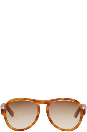 Chloé - Tortoiseshell Aviator Sunglasses