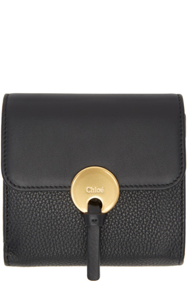 Chloé - Black Square Indy Wallet