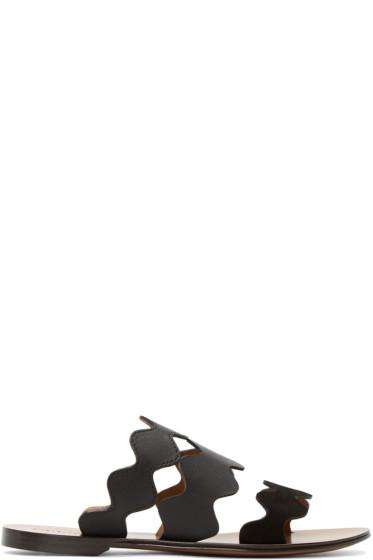 Chloé - Black Lauren Slide Sandals