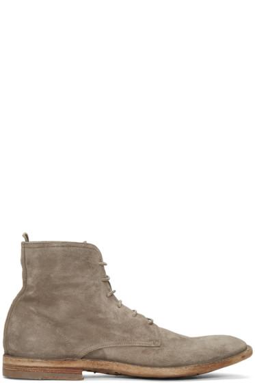 Officine Creative - Grey Standard 7 Boots
