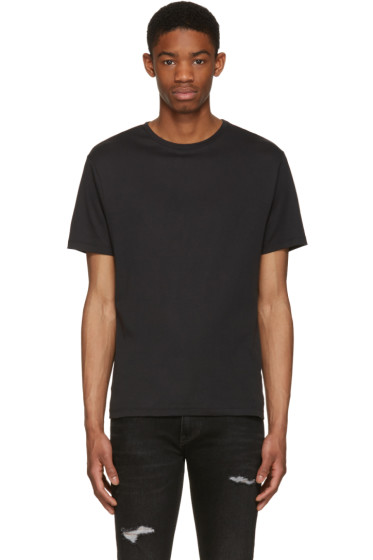 BLK DNM - Black Classic Fitted Greaser 43 T-Shirt