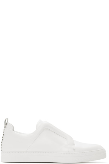 Pierre Hardy - White Slider Sneakers