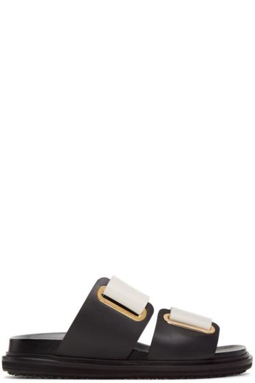 Marni - Off-White Fussbett Sandals