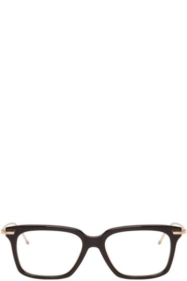 Thom Browne - Black & Gold TB 701 Glasses