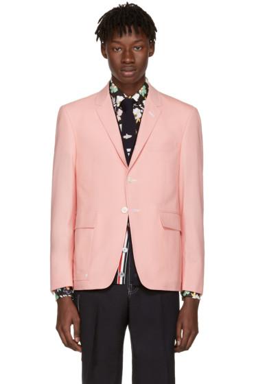 Thom Browne - Pink Constructed Square Pocket Blazer