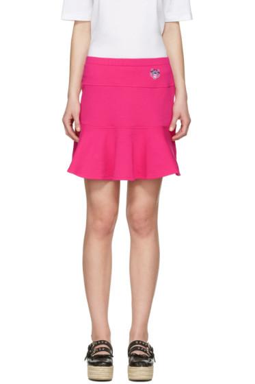 Kenzo - Pink Tiger Crest Miniskirt