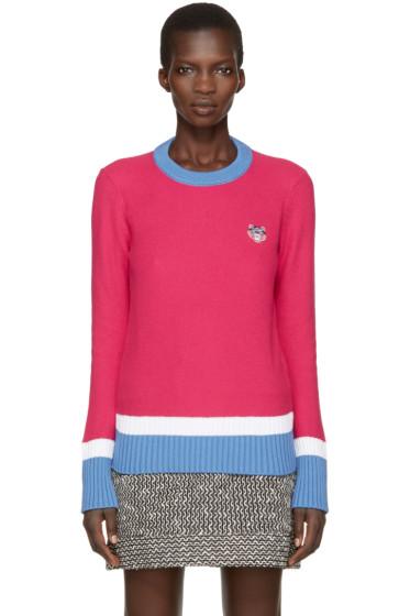 Kenzo - Pink Tiger Crest Pullover