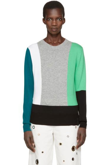 Kenzo - Black Colorblock Pullover