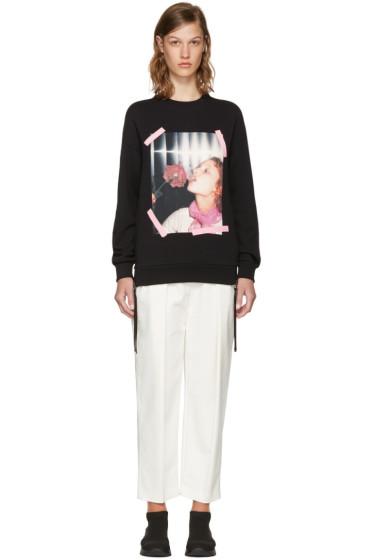 Kenzo - Black Donna Jordan Zipped Sweatshirt