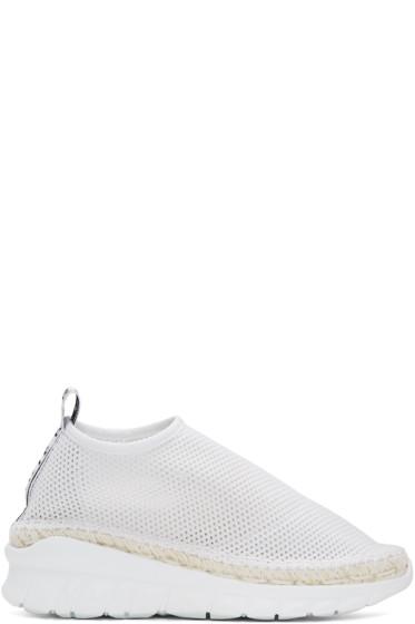 Kenzo - White Scuba Mesh Sneakers