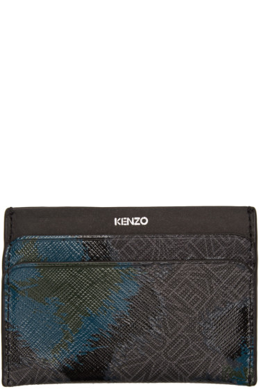 Kenzo - Black Leopard Card Holder