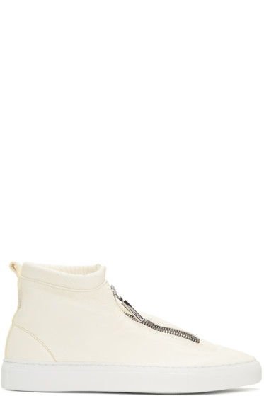 Diemme - Ivory Fontesi High-Top Sneakers