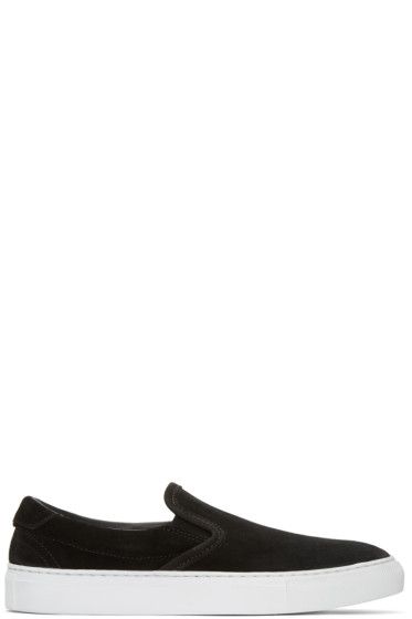 Diemme - Black Suede Garda Slip-On Sneakers
