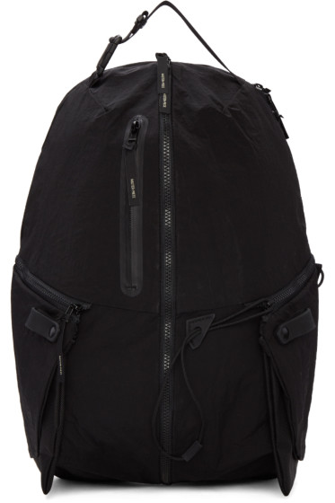 Master-Piece Co - Black Zippers Backpack
