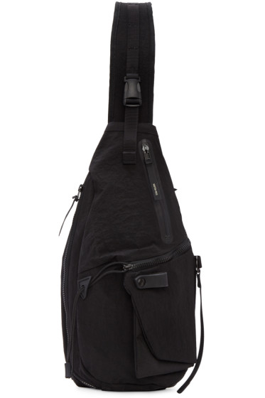 Master-Piece Co - Black Single Strap Backpack