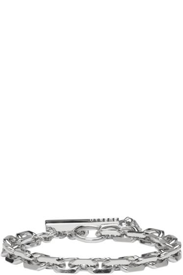 Versus - Silver Lion Toggle Bracelet