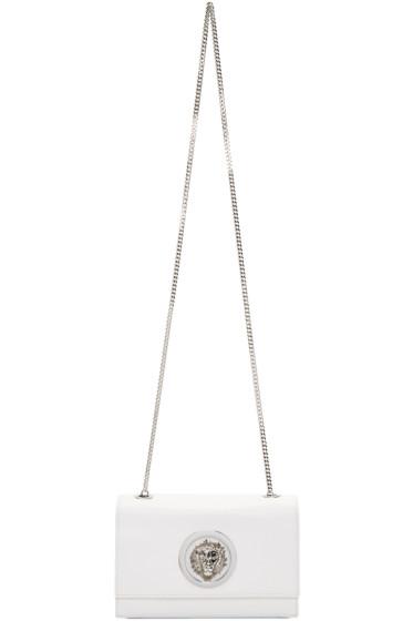 Versus - White Lion Medallion Bag
