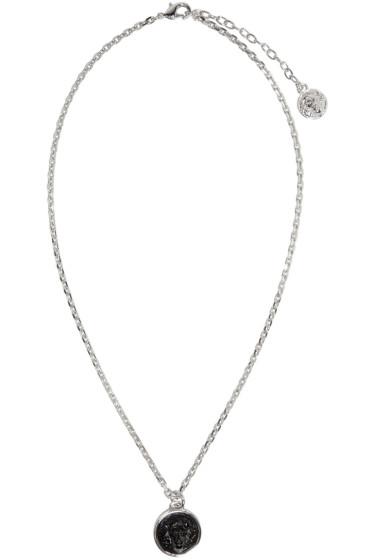 Versus - Silver Lion Pendant Necklace