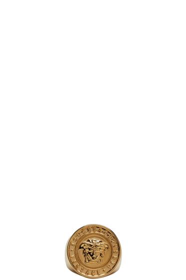 Versace - Gold Medusa Ring