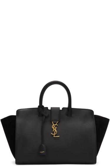 Saint Laurent - Black Small Cabas Monogram Bag