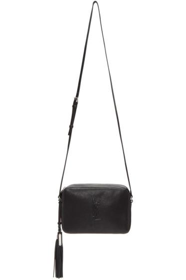 Saint Laurent - Black Small Monogram Lou Camera Bag
