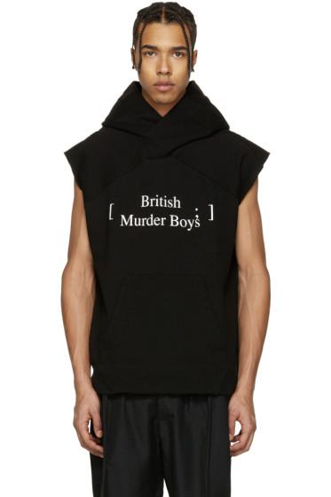 Julius - Black 'British Murder Boys' Hoodie