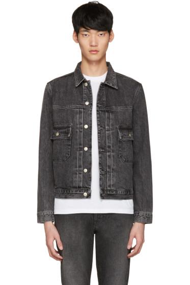 PS by Paul Smith - Grey Denim Western Jacket