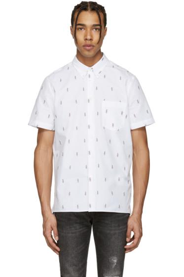 PS by Paul Smith - White Mini Parrots Shirt