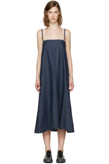 6397 - Blue Circle Dress