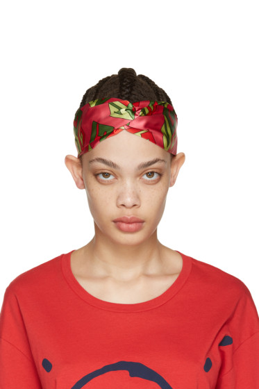 Gucci - Pink Logo Cube Headband