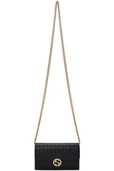 Gucci - Black Icon Chain Bag