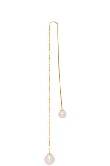 Delfina Delettrez - Gold Fishing for Compliments Earring