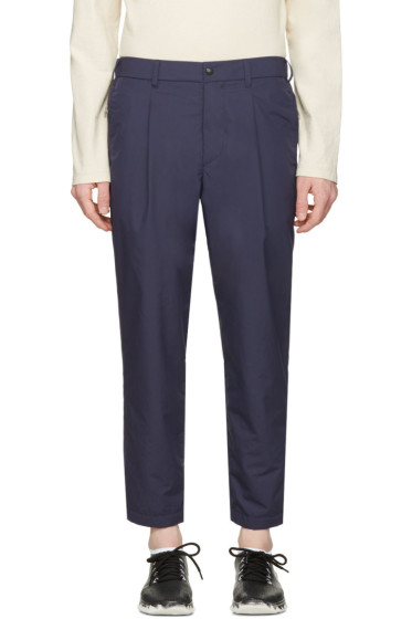 Nanamica - Navy Wind Trousers